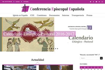 Web Conferencia Episcopal Española